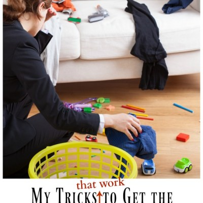 My Tricks to Get Your Kids to Clean Up