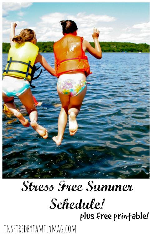 stress free summer