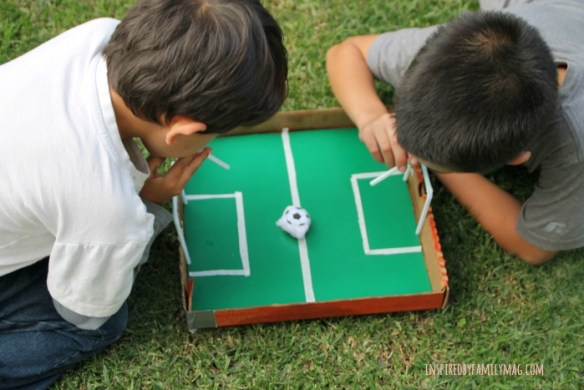 recycled box game