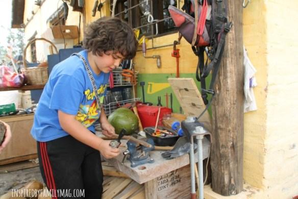 kids wood shop