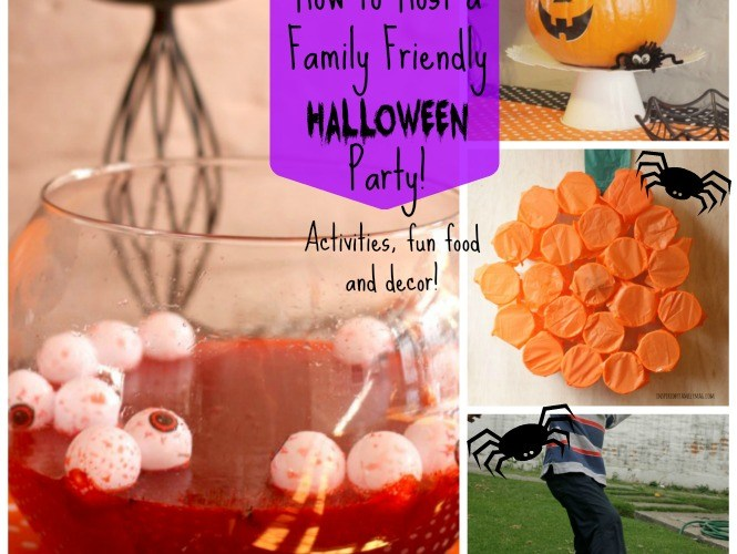 How to Throw a Fun Family Friendly Halloween Party