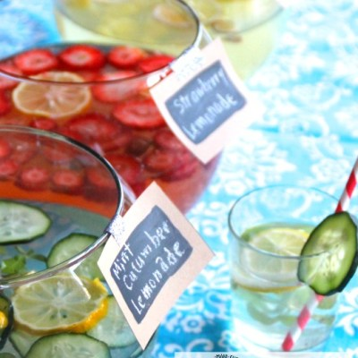 How to Make a Simple Summer Punch Bar to Cool Off This Summer