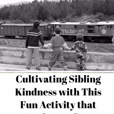 Biblical Sibling Series: Cultivating Sibling Kindness With This Fun Activity That Curbs Tattling