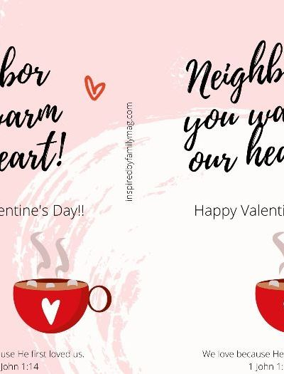 Valentine's Day Treat for Neighbors