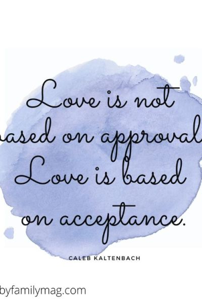 Acceptance Doesn't Mean Approval
