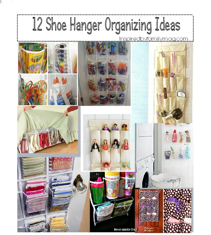 Organize Your Home 12 Ways To Declutter Using Pocket Organizers