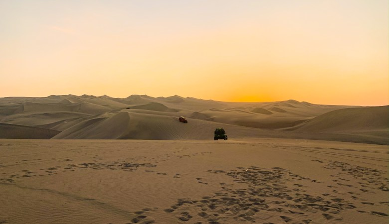 Sunset Over Huacachina, Peru