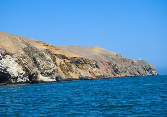 Paracas Coast in Peru