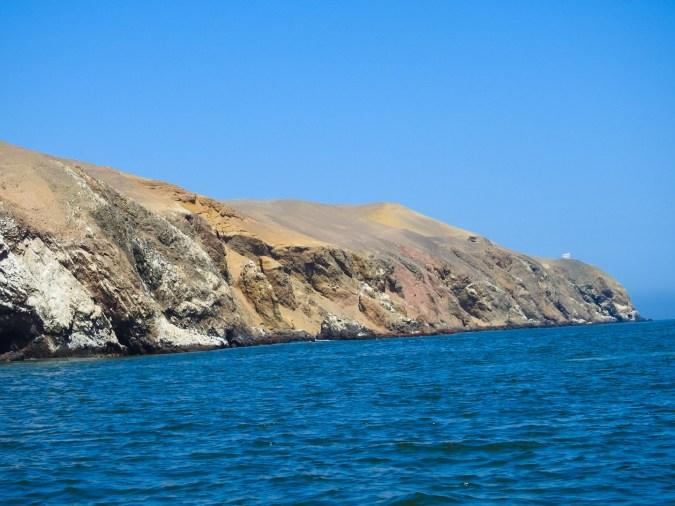 Ballestas Islands Coast in Peru