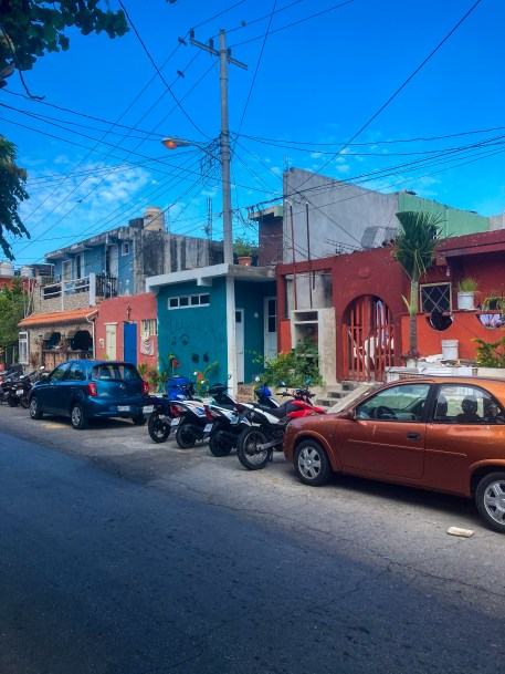 Downtown in Isla Mujeres, Mexico