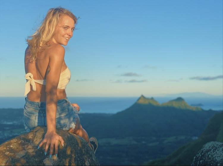 Oahu, Hawaii Selfie