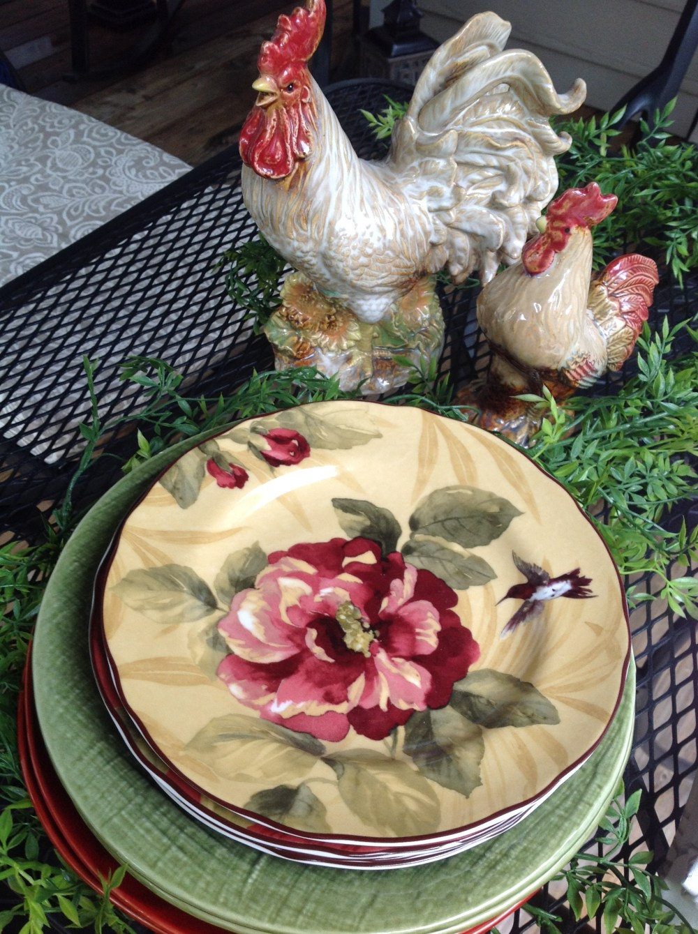 Joy of Decorating with Roosters – Inspired by Joy