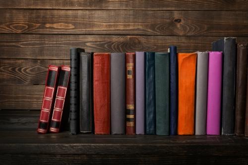 Book, bookshelf, shelf.