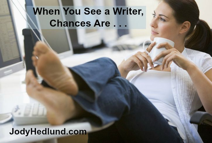 When You See a Writer, Chances Are