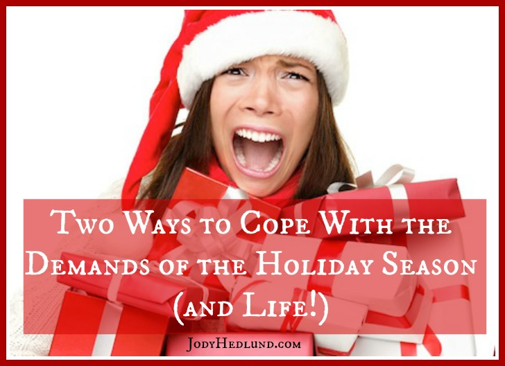 Coping With the Demands of the Holiday Season