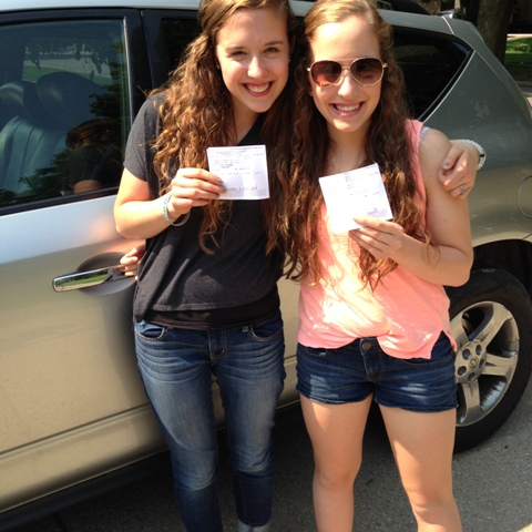 My twins became drivers!