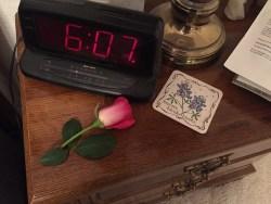 Valentines Rose Nightstand