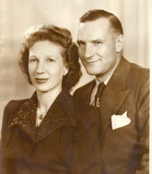 My Mom and Dad, 1948