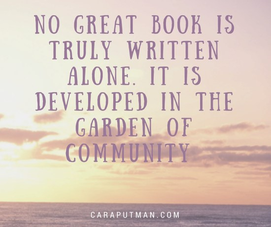 No great book is truly written alone.
