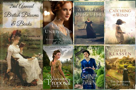 2nd Annual BRITISH BLOOMS & BOOKS GIVEAWAY