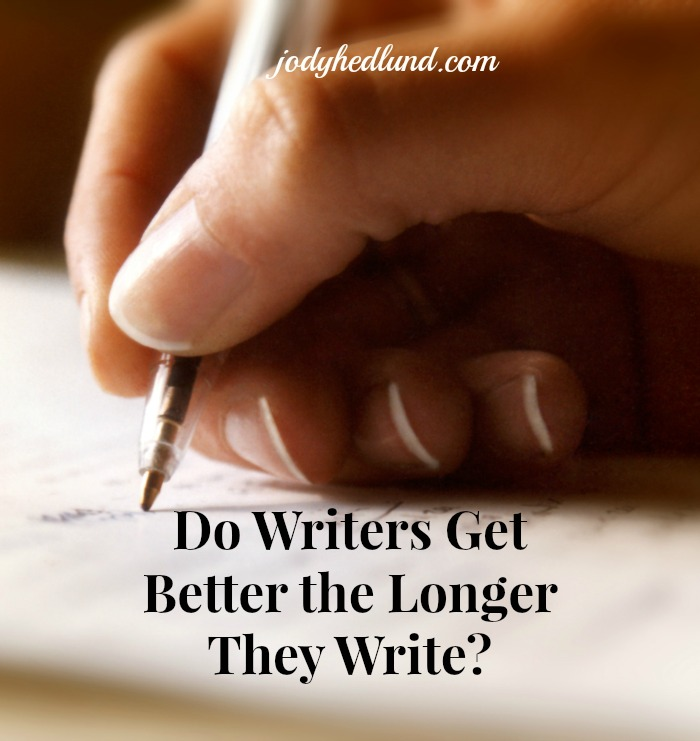 Do Writers Get Better the Longer They Write?