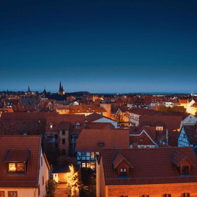 Quedlinburg at Dusk