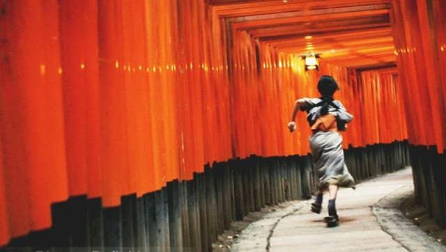 fushimi inari shrine memoirs of a geisha