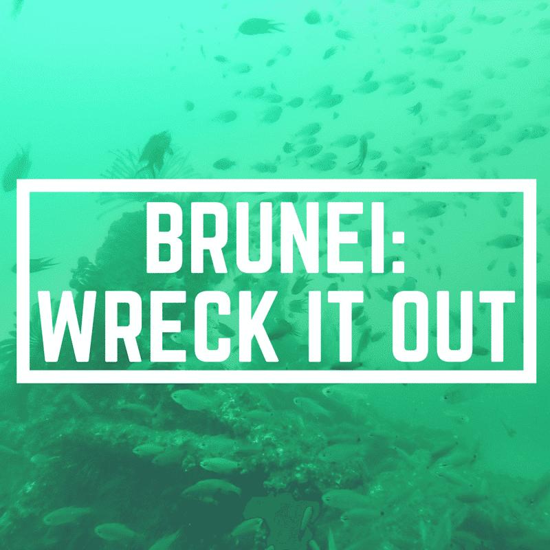 Wreck Diving Brunei