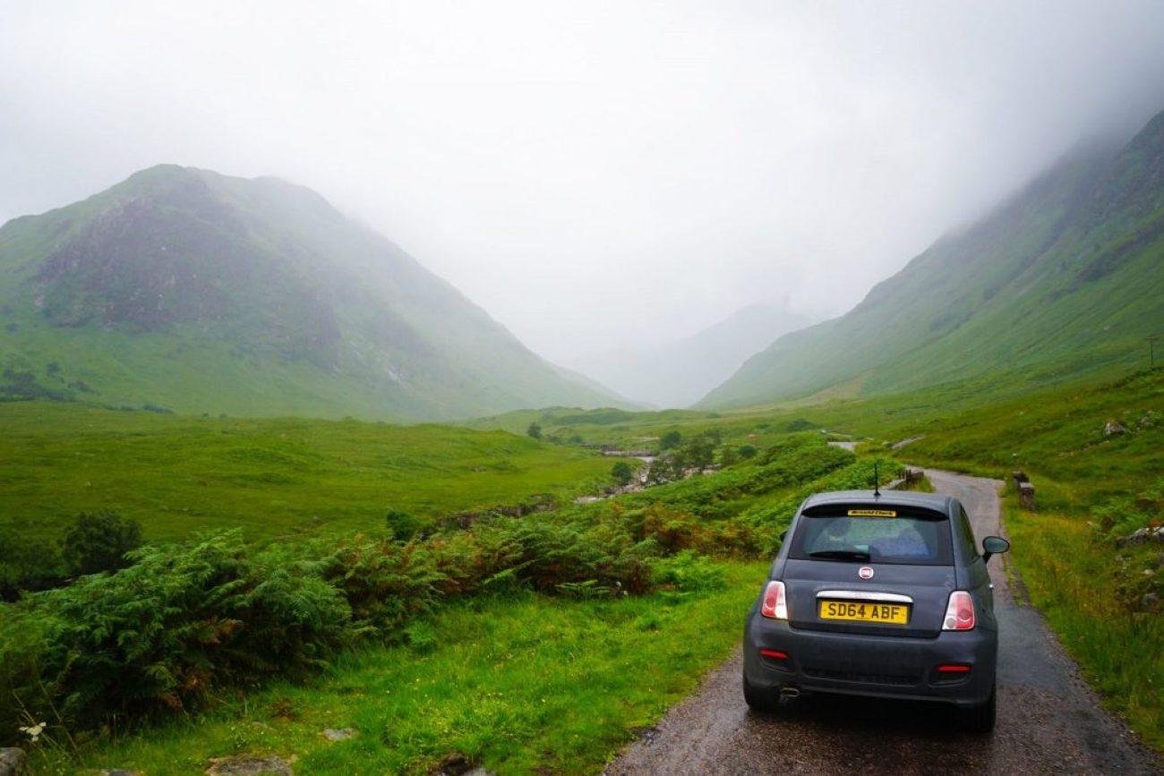 James Bond Skyfall Location in Scotland