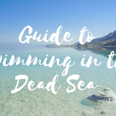 Guide to Swimming in the Dead Sea