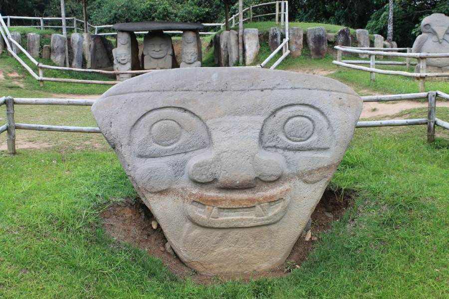 UNESCO Sites in South America - San Agustín Archaeological Park in Colombia