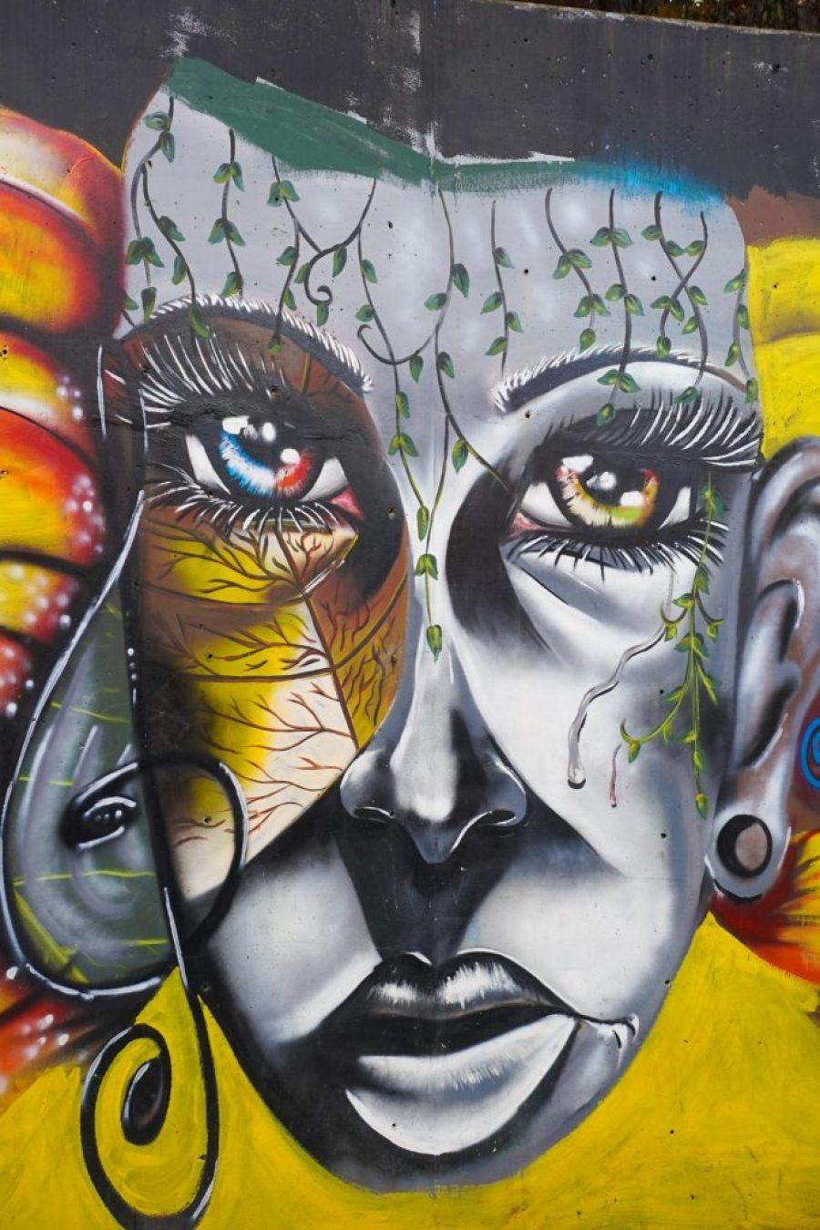 graffiti tour medellin