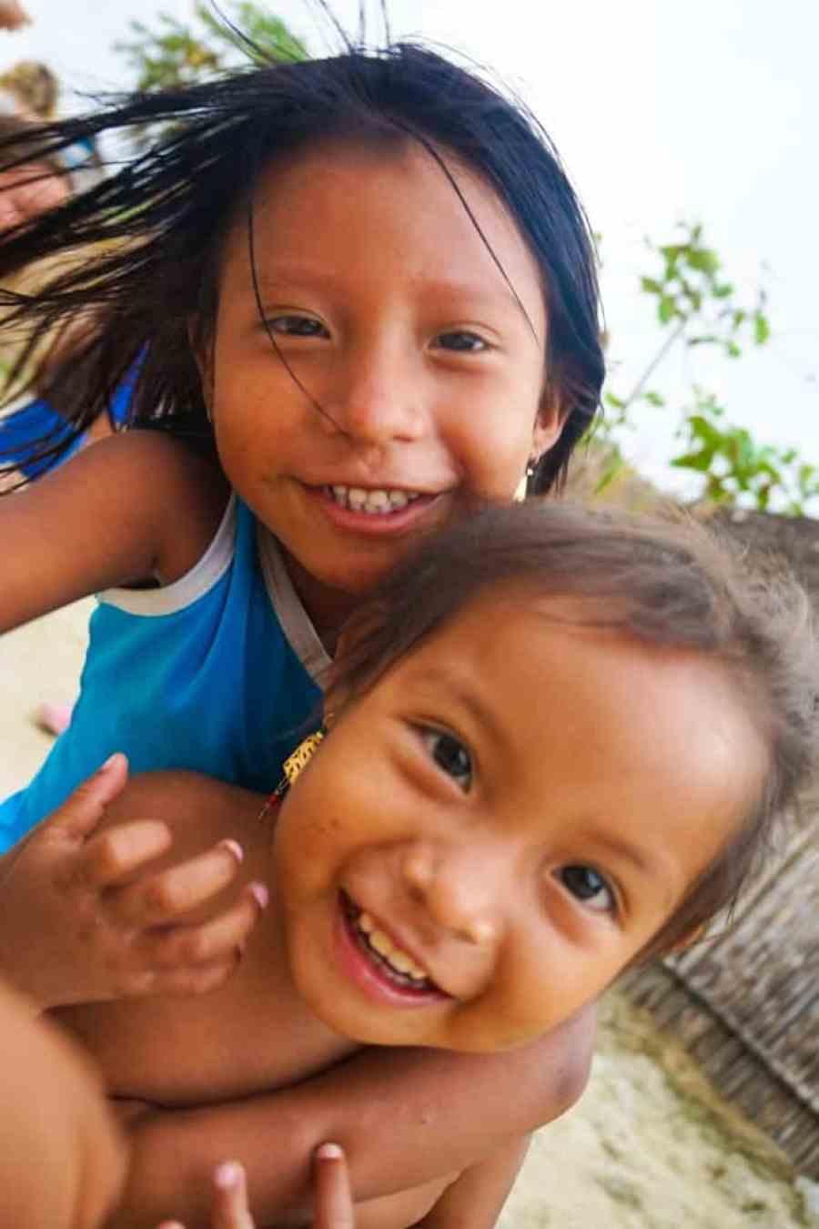 San Blas Adventures review - Guna Yula Children