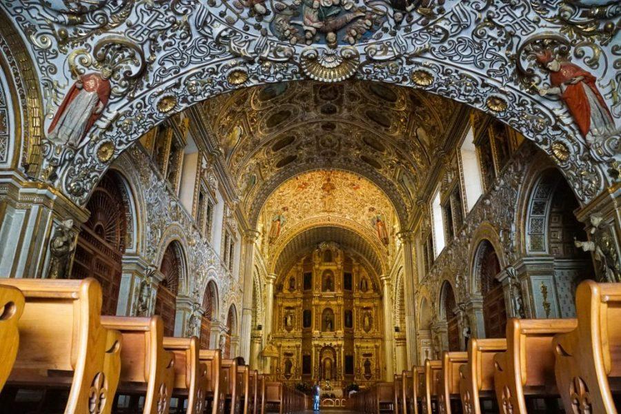 oaxaca city travel guide - santo domingo church