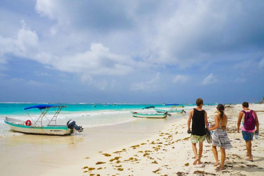 Tulum beach cabanas