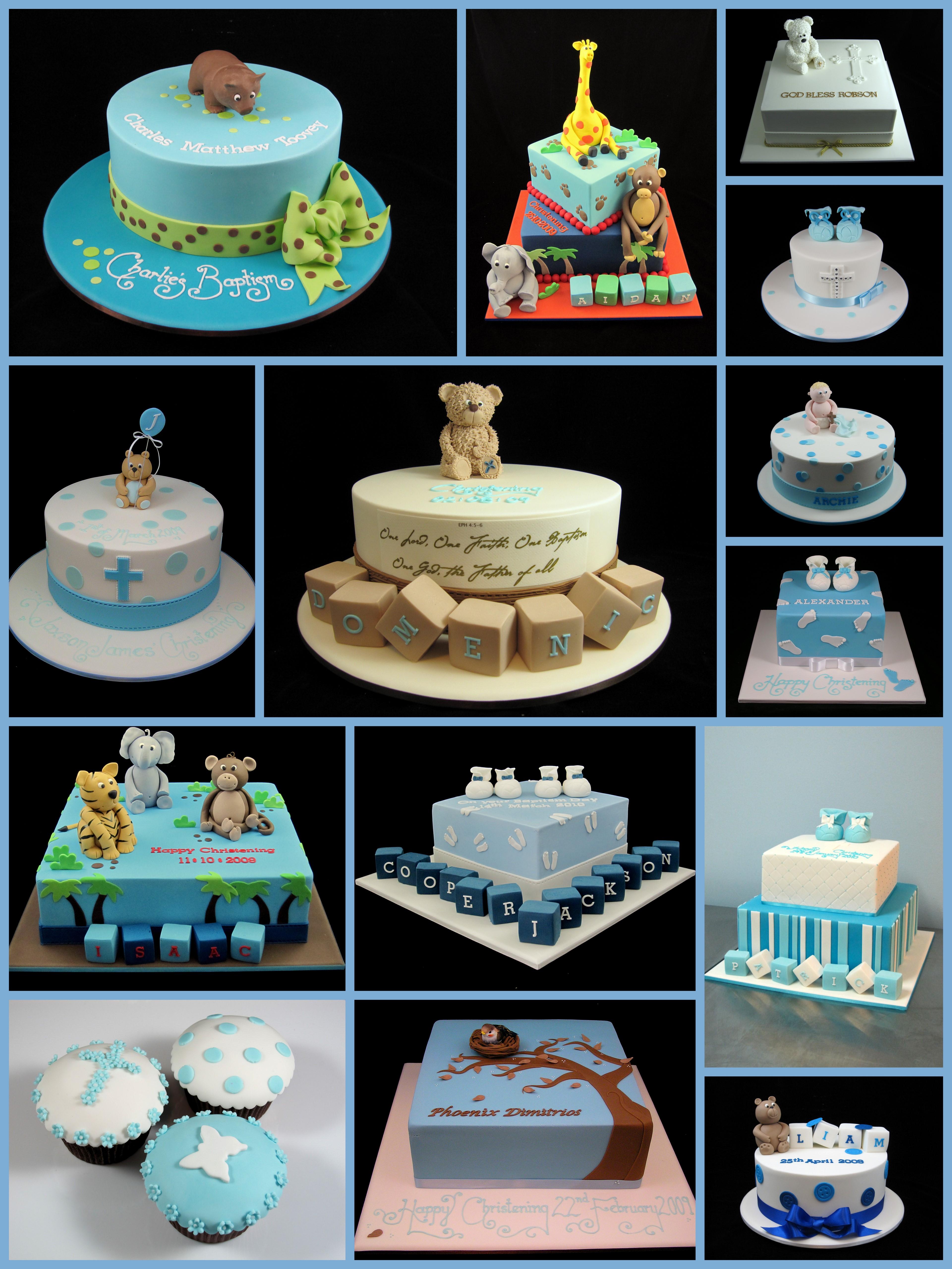 Christening Cake Baptism Cake Ideas For Boys