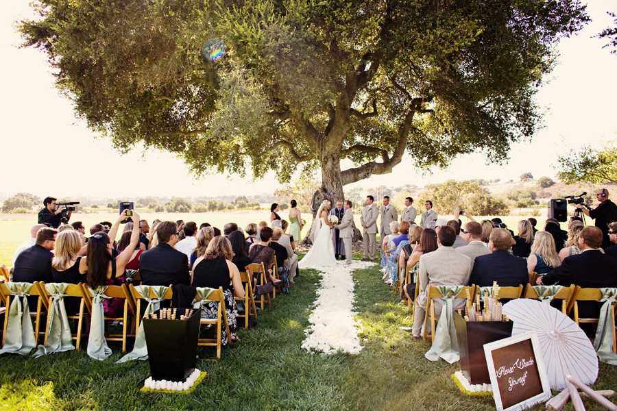 Rustic Vineyard Wedding In Santa Ynez Wine Country