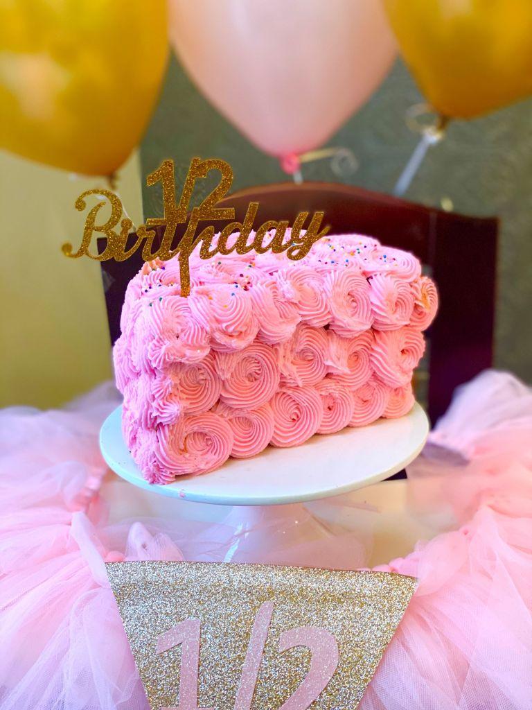 Peachy Happy 1 2 Birthday Brielle Inspired Chick Funny Birthday Cards Online Benoljebrpdamsfinfo