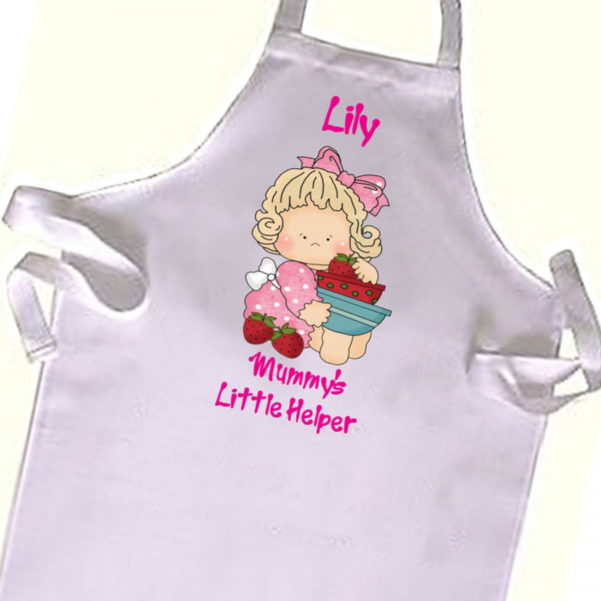 cute kitchen aprons standard trash can size cooking helper chef kids apron great gift