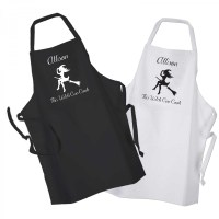 This Witch Can Cook Design, Apron Black Or White. Perfect ...