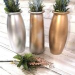 Clear Glass Flower Vases Diy Project The Inspired Decorator