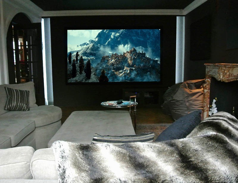SW15 Cinema Snug  Home Automation  Inspired Dwellings