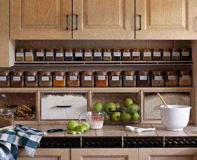 33+ Amazing Kitchen Organization Hack Ideas on a Budget 21
