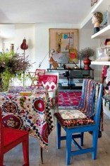 38+ Luxury Boho Chic Home and Apartment Decor Ideas 10