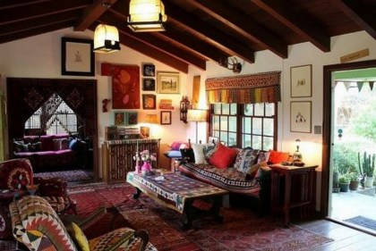 38+ Luxury Boho Chic Home and Apartment Decor Ideas 23