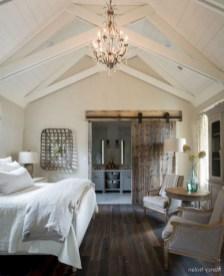 48+ beautiful Farmhouse Style Master Bedroom Ideas 10