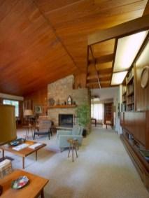 52+ Amazing Mid Century Living Room Decor Ideas 07