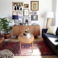 52+ Amazing Mid Century Living Room Decor Ideas 22