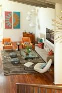 52+ Amazing Mid Century Living Room Decor Ideas 42
