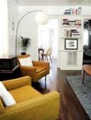 52+ Amazing Mid Century Living Room Decor Ideas 53